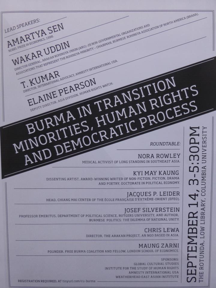 Rohingya Blogger  Burma in Transition  Minorities da950da20c