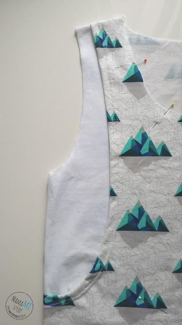 góry miękkie design, bluzka, koszulka, top do karmienia