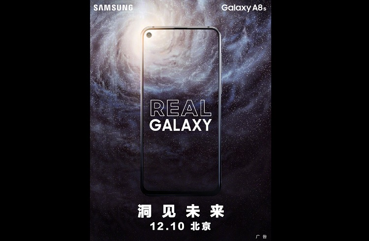 Samsung to Unleash Galaxy A8s on December 10