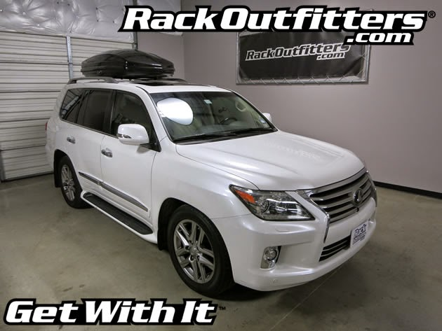 Rack Outfitters Lexus 480 Outfitted With Thule 634b Sonic
