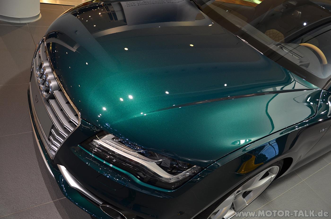 Vwvortex Com One Off Emerald Green Audi S7 Mother Of God