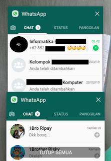 2 WhatsApp dalam 1 hp