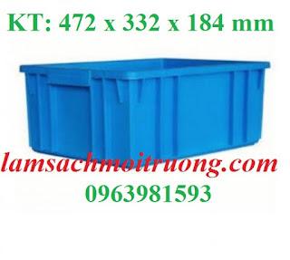 Cung cấp thùng nhựa đựng vật tư, thùng đựng linh kiện, thùng nhựa giá rẻ