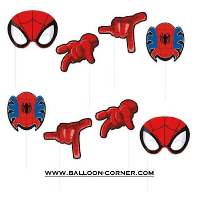 Photo Booth Props Disney Spiderman / Photo Booth Property Disney Spiderman