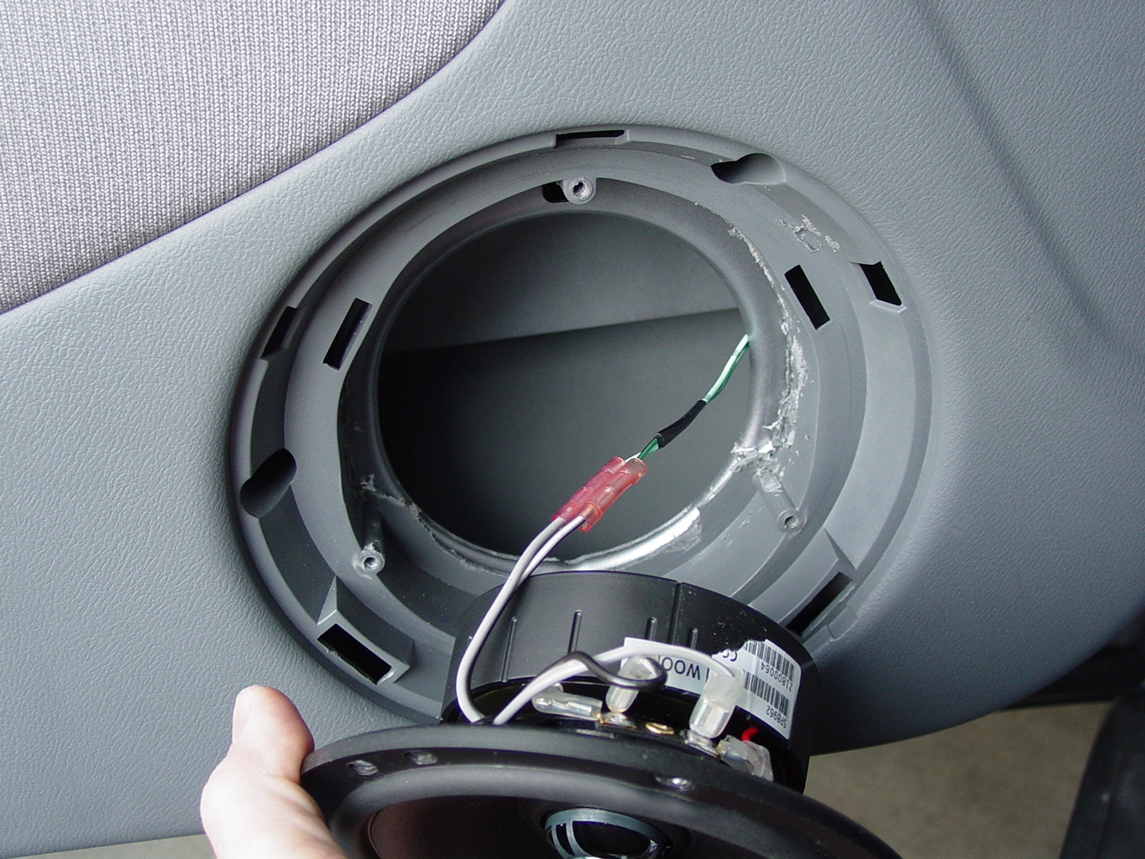 car%2Bspeaker%2Binstalled how to make car speakers sound more clearer how to install car