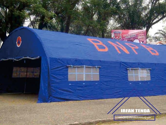 Penjual Tenda Bantuan Pengungsian