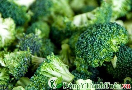 Chữa viêm mũi dị ứng từ bông cải xanh