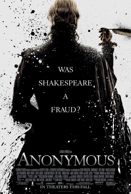 FILM REVIEW: ANONYMOUS (2011) WAS SHAKESPEARE A FRAUD?
