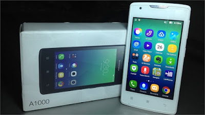 Cara Hard Reset Lenovo A1000 Bahasa China 100% Work