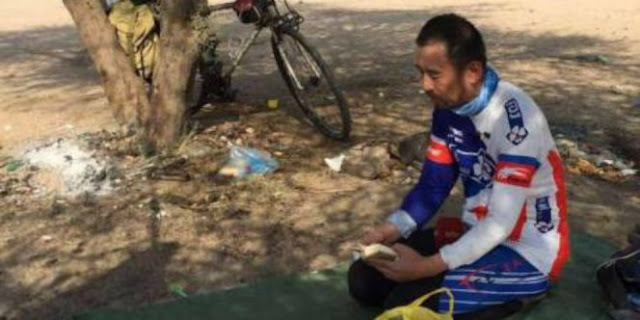 Tak Miliki Biaya, Muslim Tiongkok Ini Nekat Berangkat Haji Dari Tiongkok Menggunakan Sepeda