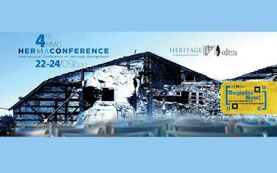 """4ο διεθνές συνέδριο διαχείρισης πολιτιστικής κληρονομιάς """"HerMa Conference"""""""