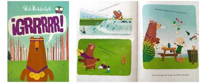 cuentos para enseñar valores niños: grrrrr! de Rob Biddulph, comprensión, competitividad