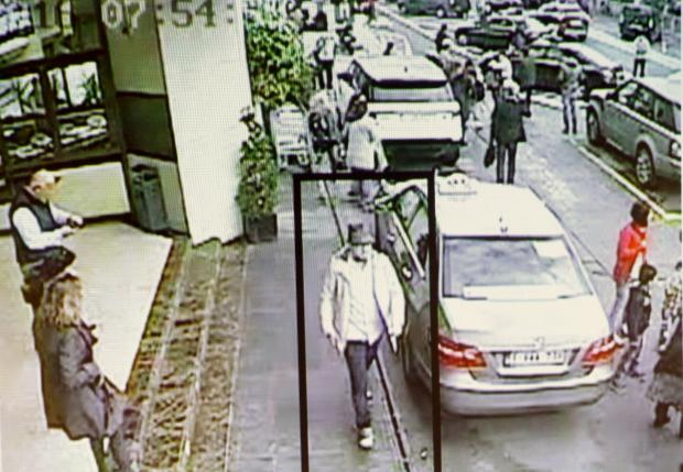 Image Attribute: CCTV Surveillance Footage, Brussels, Belgium