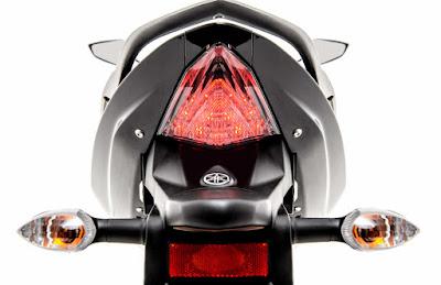 2017 Yamaha Fazer 250 (Fazer 25) Taillight pics