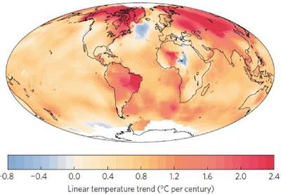 anomalía corriente del golfo