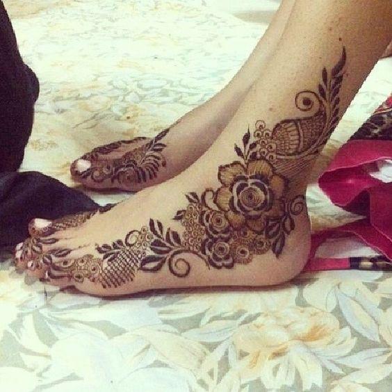 Mehndi For Rose : Stunning rose mehndi designs for all occasions bling