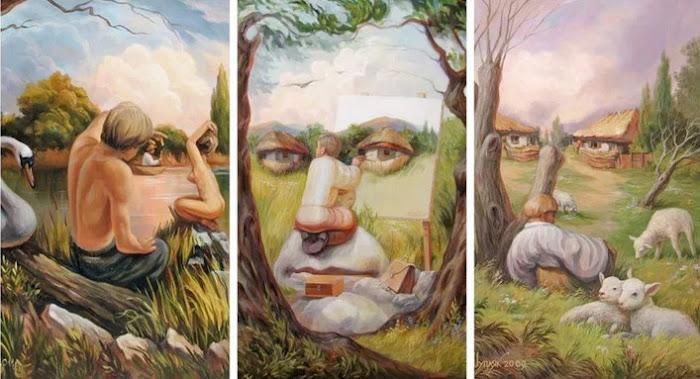80 Gambar Seni Rupa Dua Dimensi Dan Penjelasannya