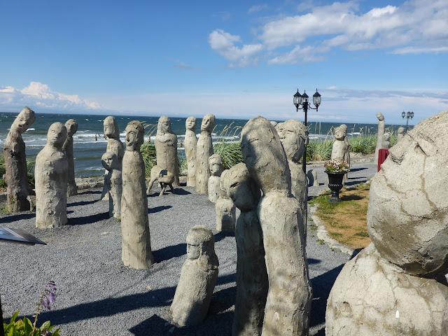 Sculptures Centre d'Art Marcel Gagnon à Sainte-Flavie Québec