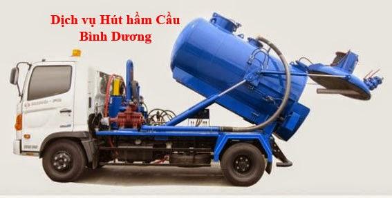 Dịch vụ hút hầm cầu tại Thuận An - Bình Dương