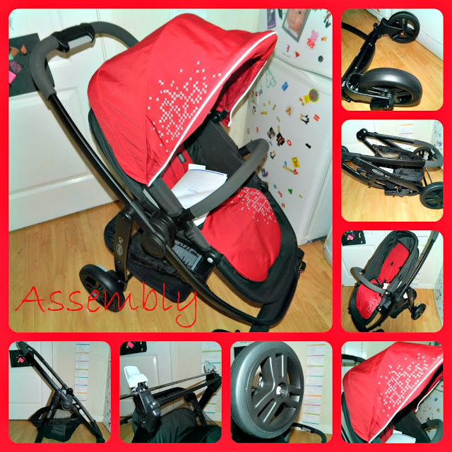 Assembly Graco Evo Stroller Chili