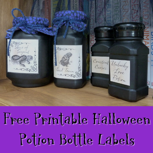 Free Halloween Potion Bottle Labels to Print Off and Enjoy
