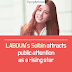 LABOUM's Solbin attracts public attention as a rising star