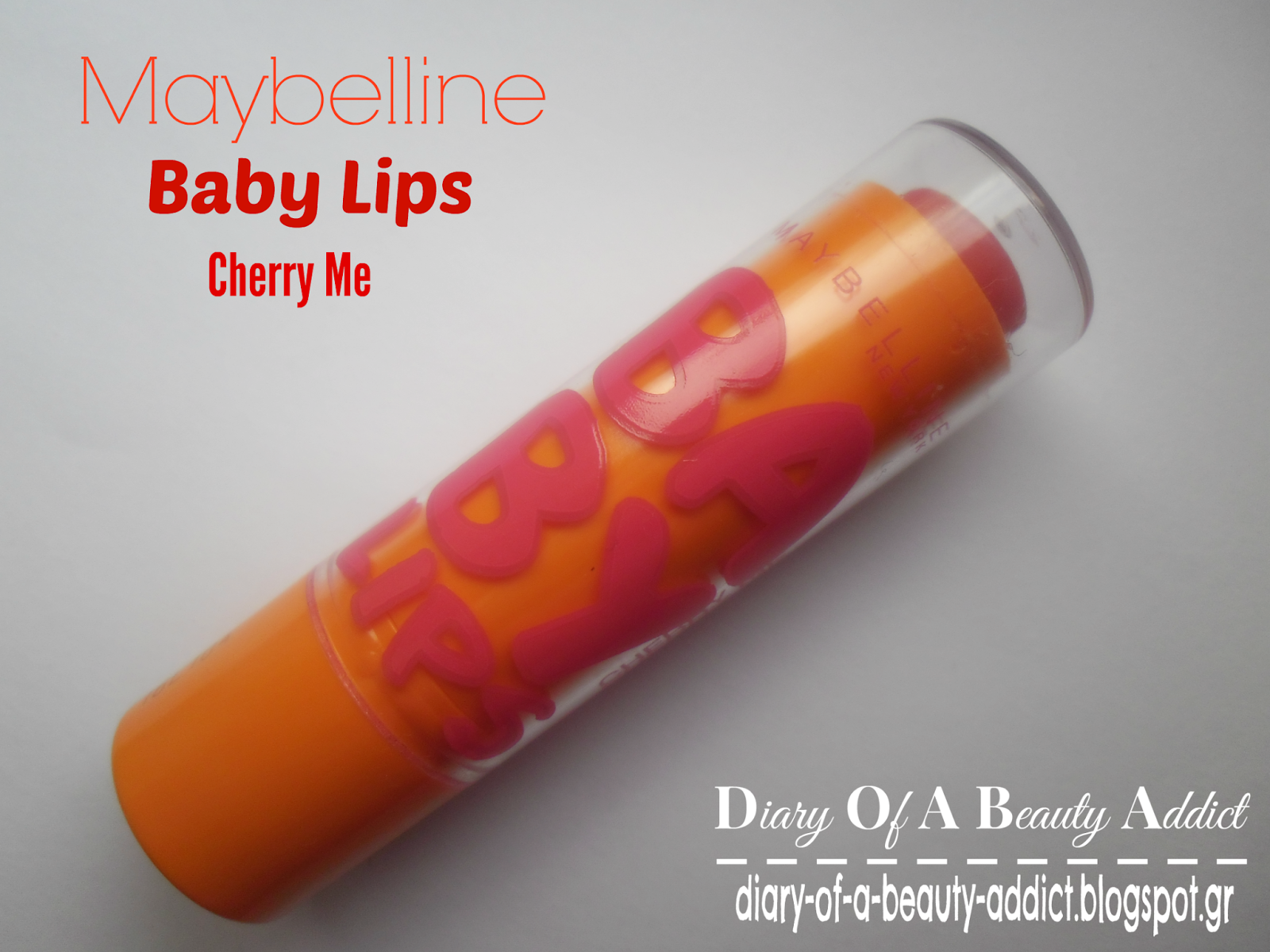 Maybelline Baby Lips Cherry Me : Review
