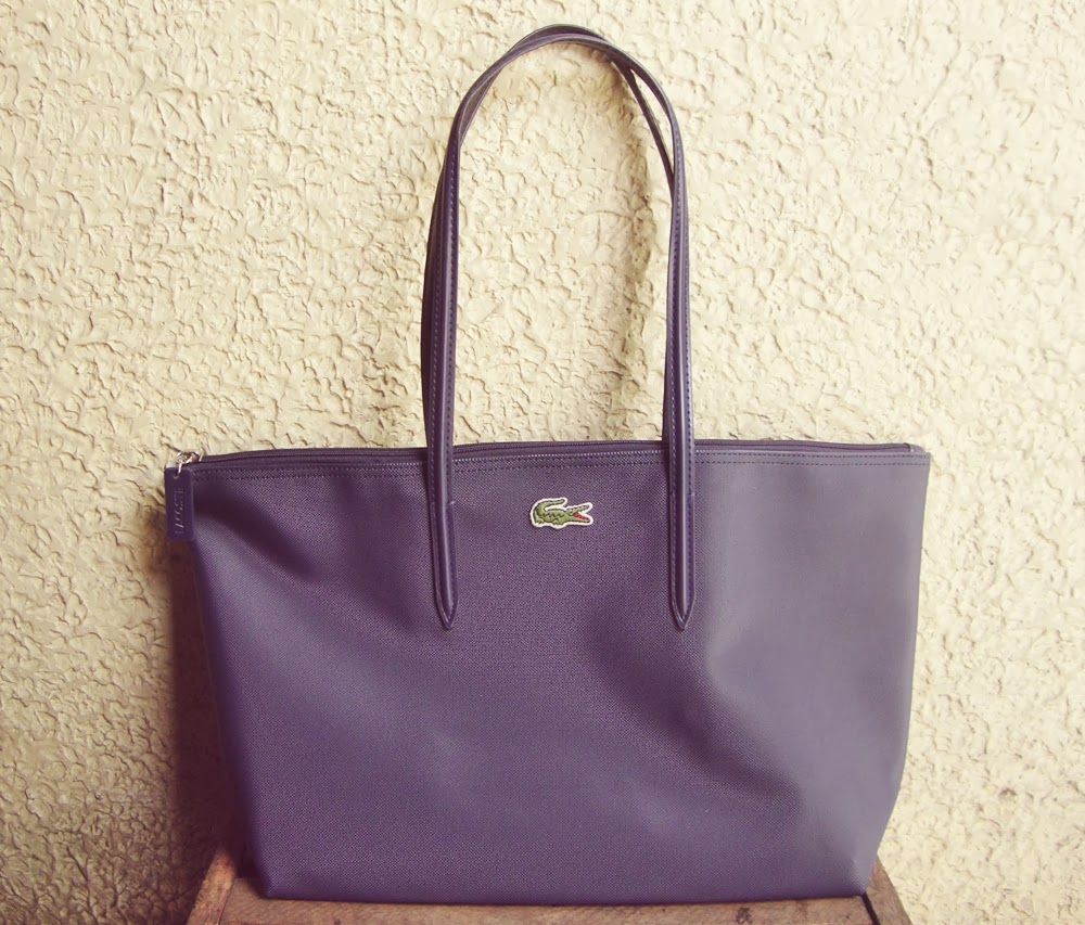 7325a6070e diane wants to write : Lacoste Concept Shopping Bag Review : An ...