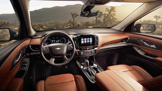 2018 chevrolet traverse interior exterior design famous brands and products. Black Bedroom Furniture Sets. Home Design Ideas