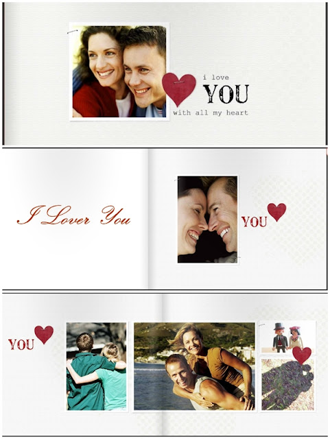 I Love You Photobook Template