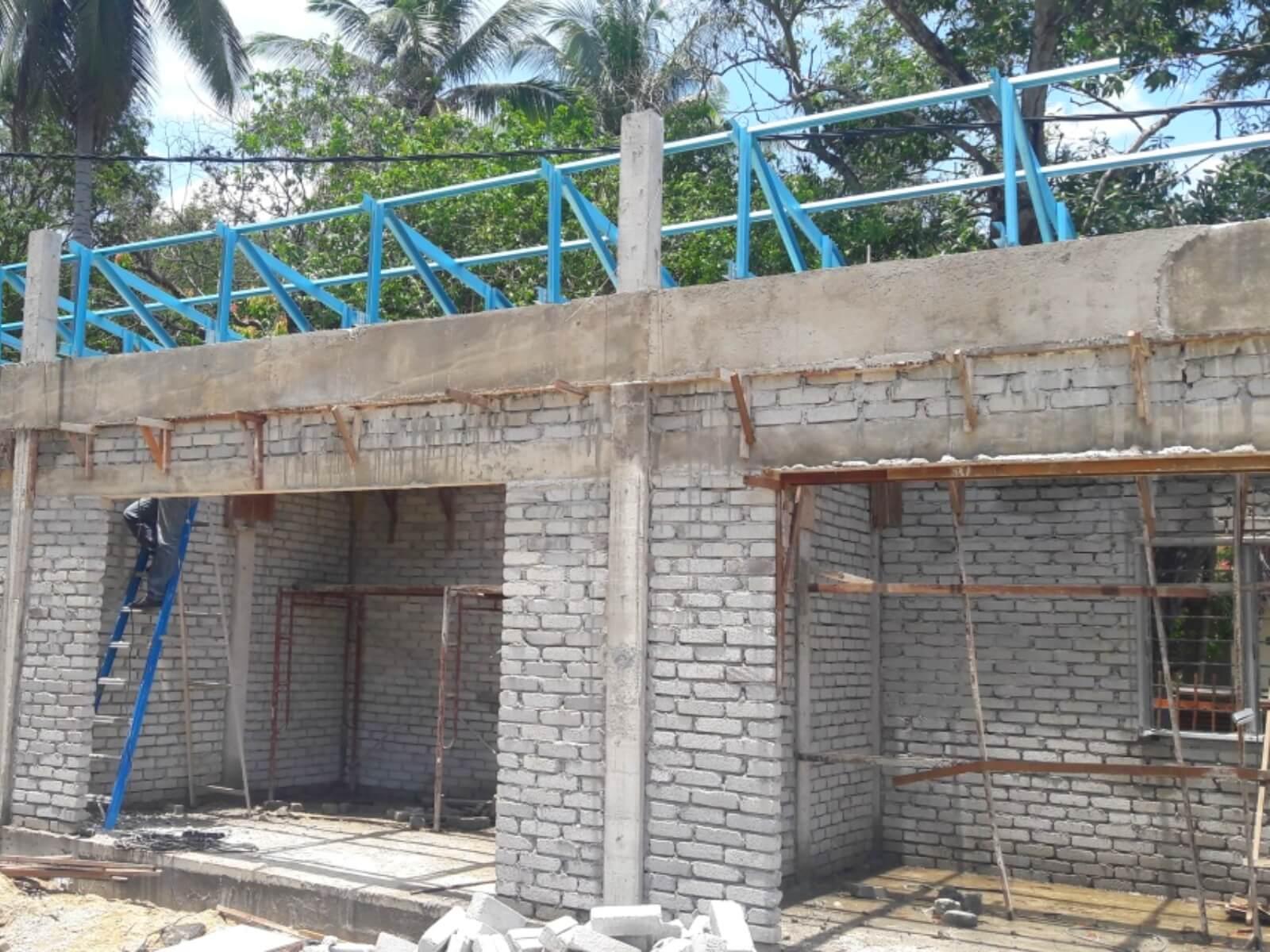 Bina kiosk MPKBBRI di Pengkalan Chepa.