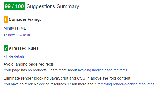 Eliminate render-blocking JavaScript and CSS in above-the-fold content