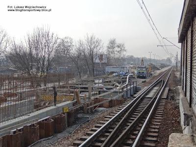 Kraków Łobzów, budowa kolei aglomeracyjnej