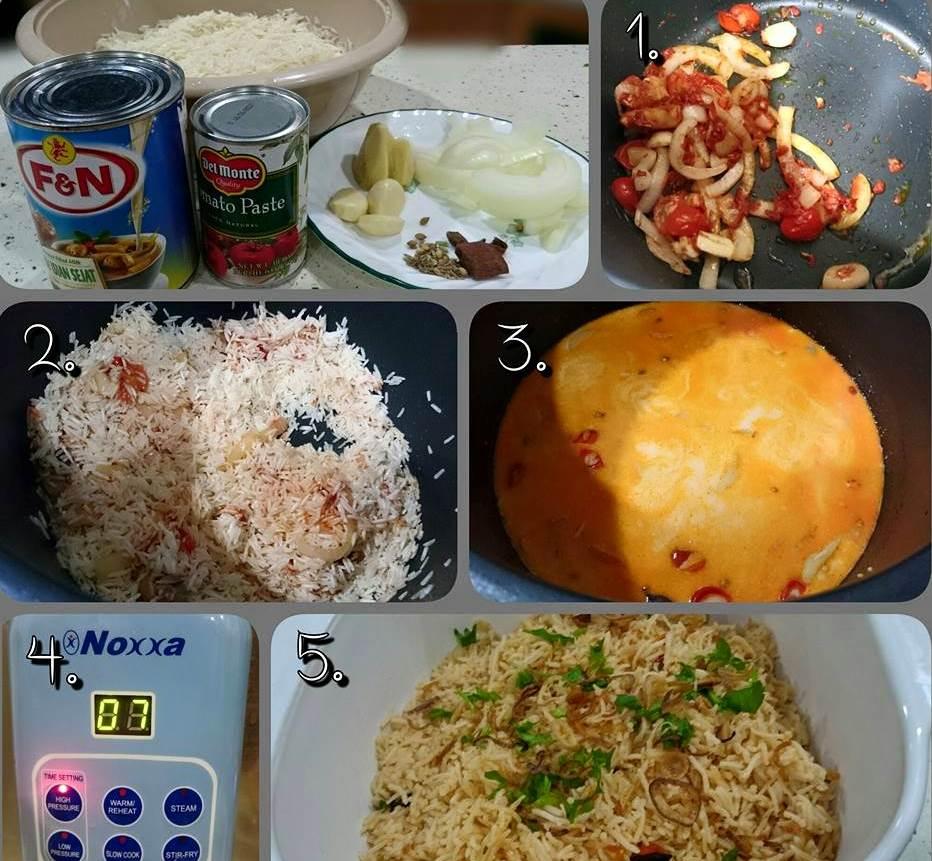 Resepi Nasi Tomato Ayam Masak Merah Azie Kitchen - copd blog v