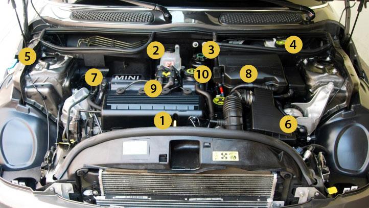 2013 mini cooper engine diagram