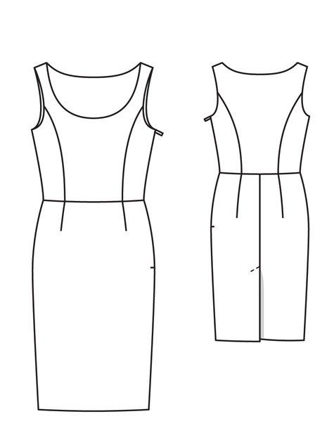 Velvet Ribbon: Sheath Dress