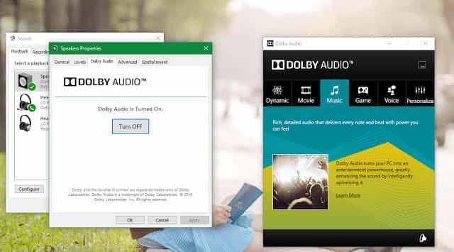 dolby-audio-tren-windows-7-8.1-10, Dolby Audio trên Windows 7/8.1/10