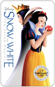 "The new DVD Blu-ray of ""Snow White and the Seven Dwarfs"" has been released."