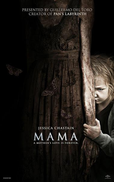 Mama (2013) Dual Audio Hindi 300MB BluRay 480p x264 ESubs
