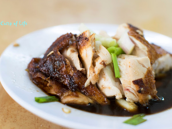 Hainan Chicken Rice @ Goh Thew Chik Cafe, Chulia Street, Penang