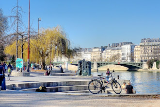 Paris : Musée de la Sculpture en plein air - Jardin Tino Rossi - Port Saint Bernard - Vème