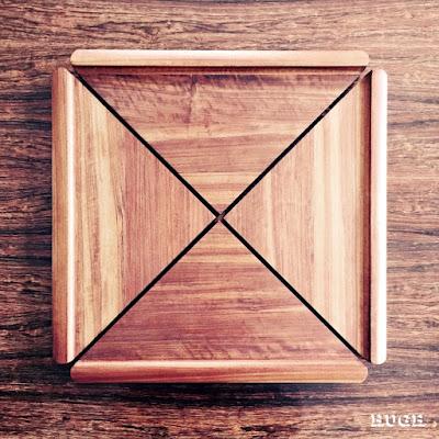 Dansk Mutenye Rare Woods tray