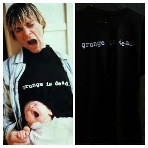 Baju Baju Kurt Cobain Distorsi Kasar
