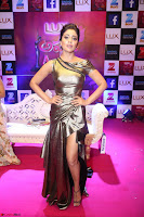 Shreya Saran in Skin Tight Golden Gown ~  Exclusive 012.JPG