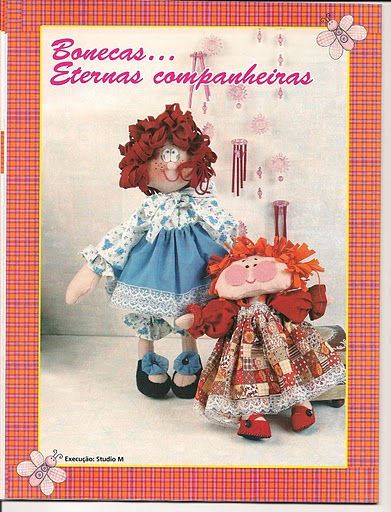 Revista+feltro+compartilhar+004 - Boneca de Pano com cabelo de feltro