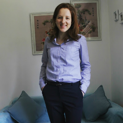 Instagram, Catch Up, OOTD, Outfit, Outfit Of The Day, Shirt, Topshop, Tailoring, Fashion, Blue, Smart