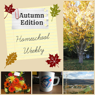 Homeschool Weekly - Autumn Edition on Homeschool Coffee Break @ kympossibleblog.blogspot.com