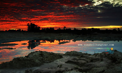 Sunrise Danau Kaolin