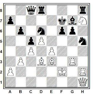 Problema ejercicio de ajedrez número 731: Vestol - Neu (Amsterdam, 1954)