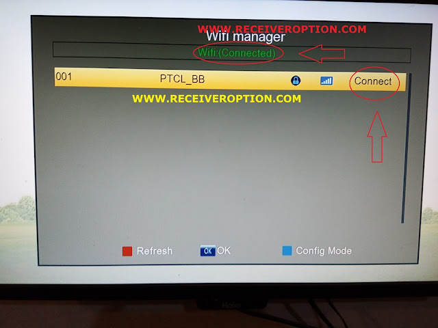 HOW TO CONNECT WIFI IN NEWSAT O3 HD RECEIVER